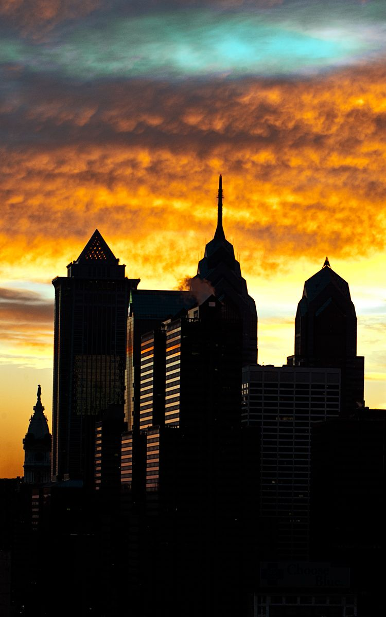 Philadelphia Skyline at Dawn