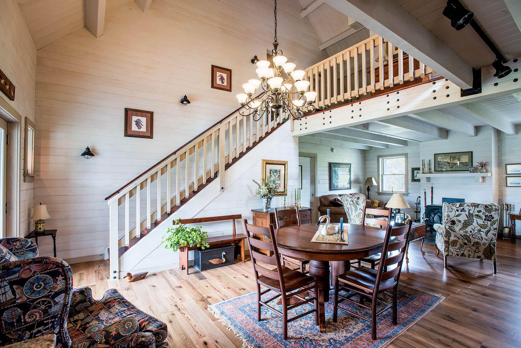 Arborwall Log Home Interior