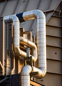 Energy Production Facility  Piping
