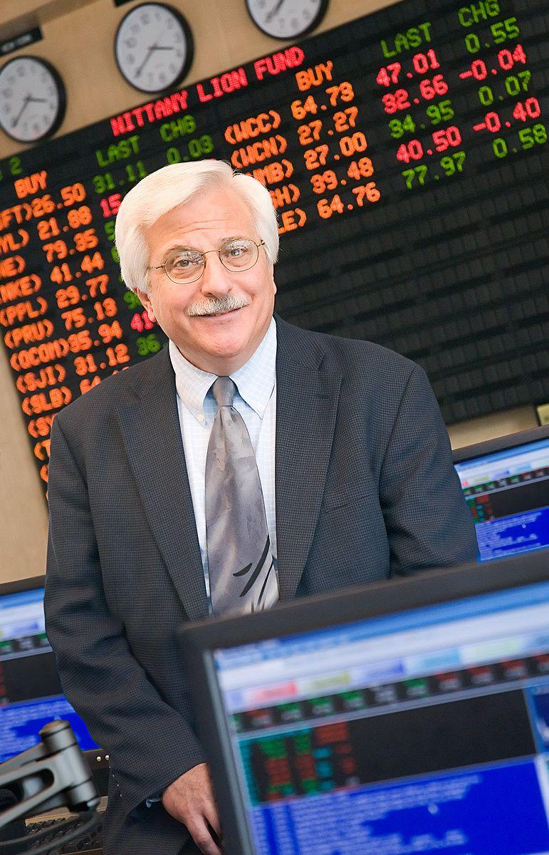 Editorial Portrait of Business School Professor