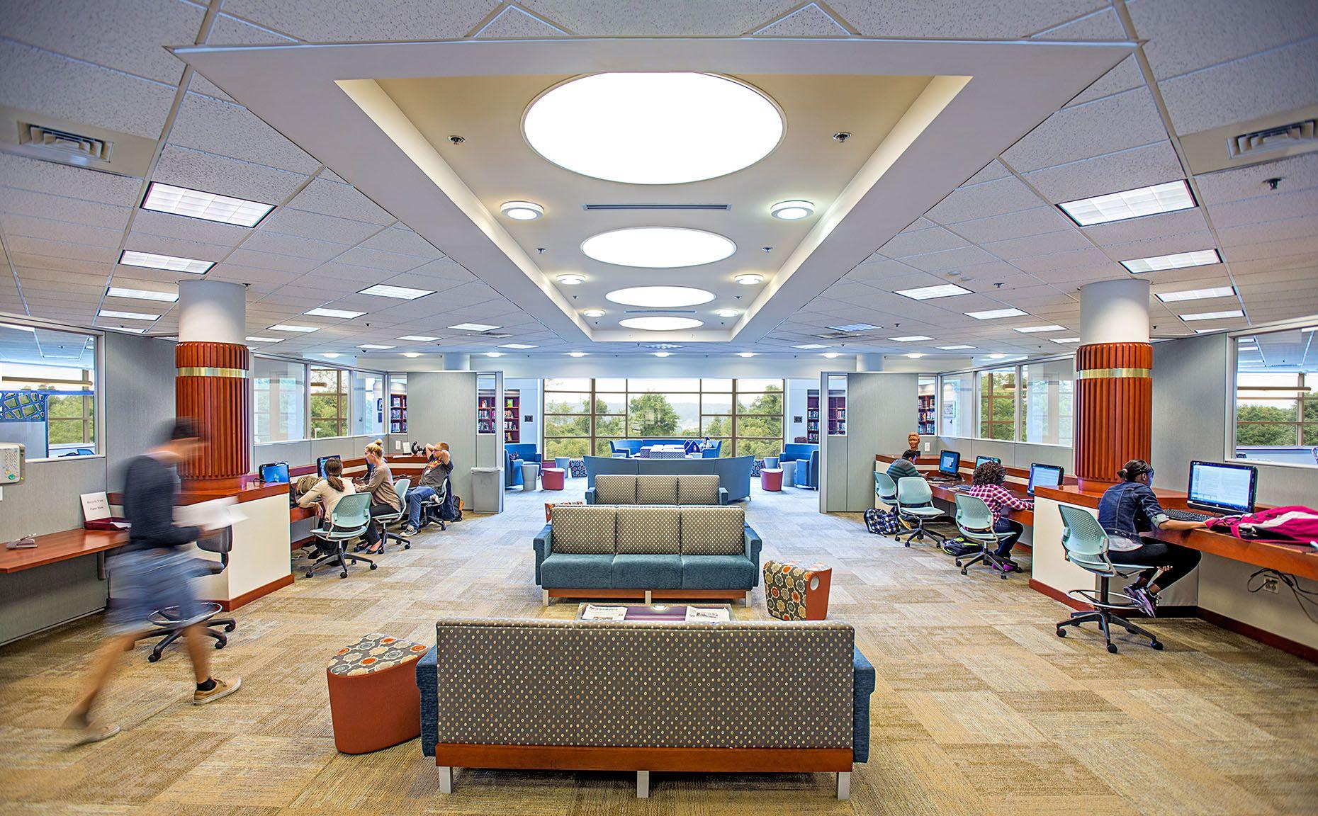 Gabriele Library  Interior,  Immaculata  University,  Frazer, PA