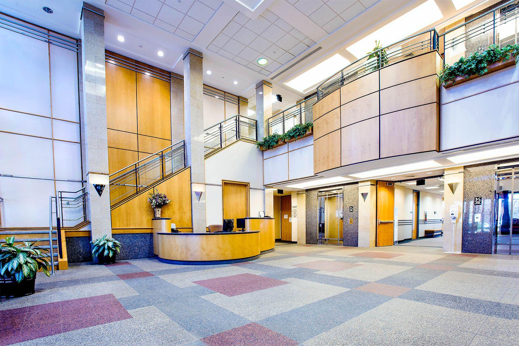 Lobby, Medical Office Bldg., Glen Mills, PA