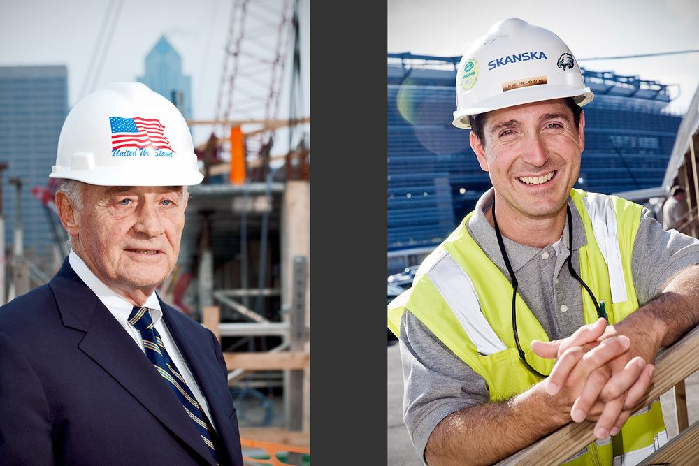 Construction Exec;  Project Engineer