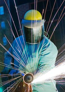 Finish Grinding Steel Parts
