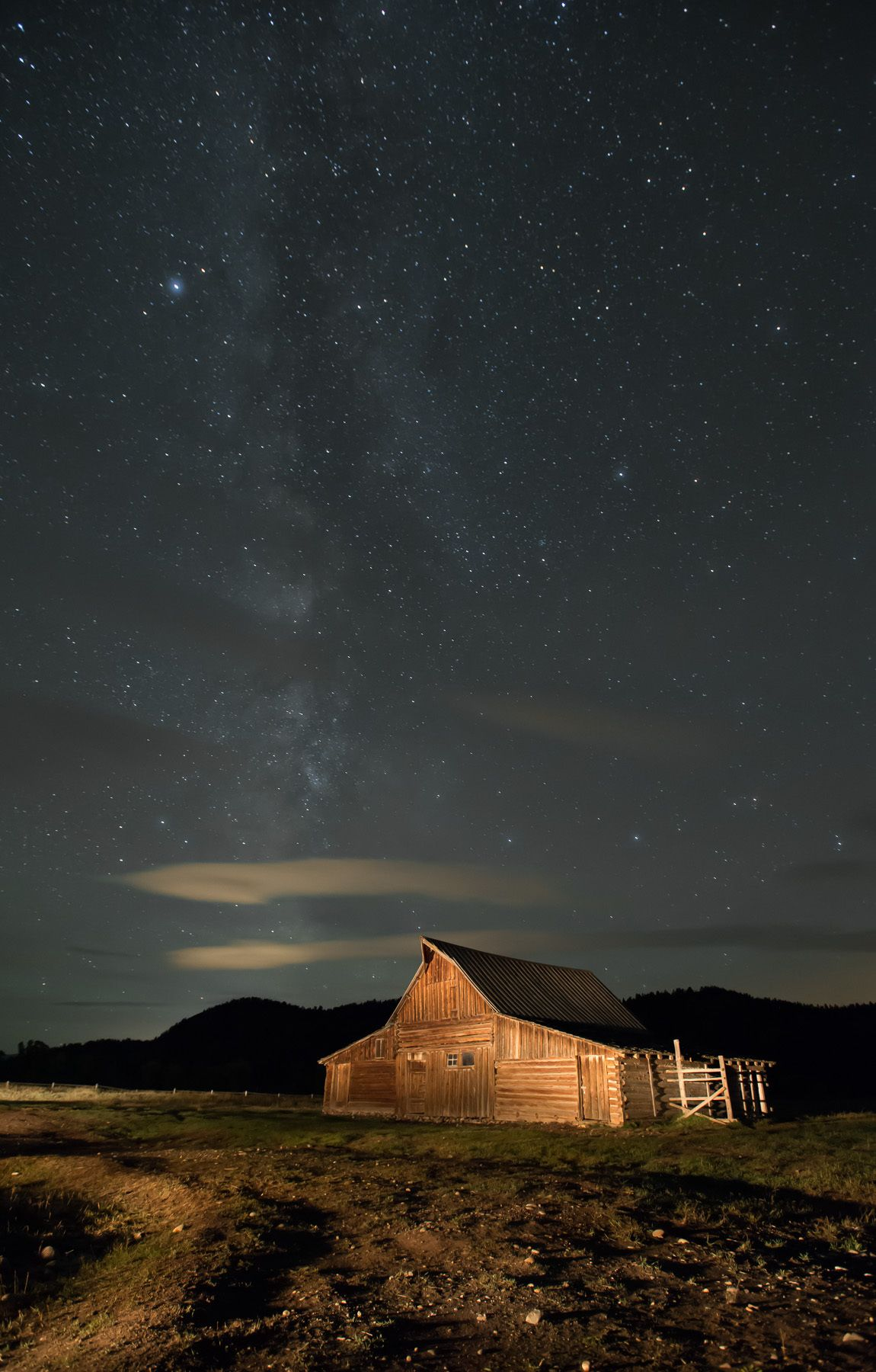 T. Moulton Barn and Milky Way