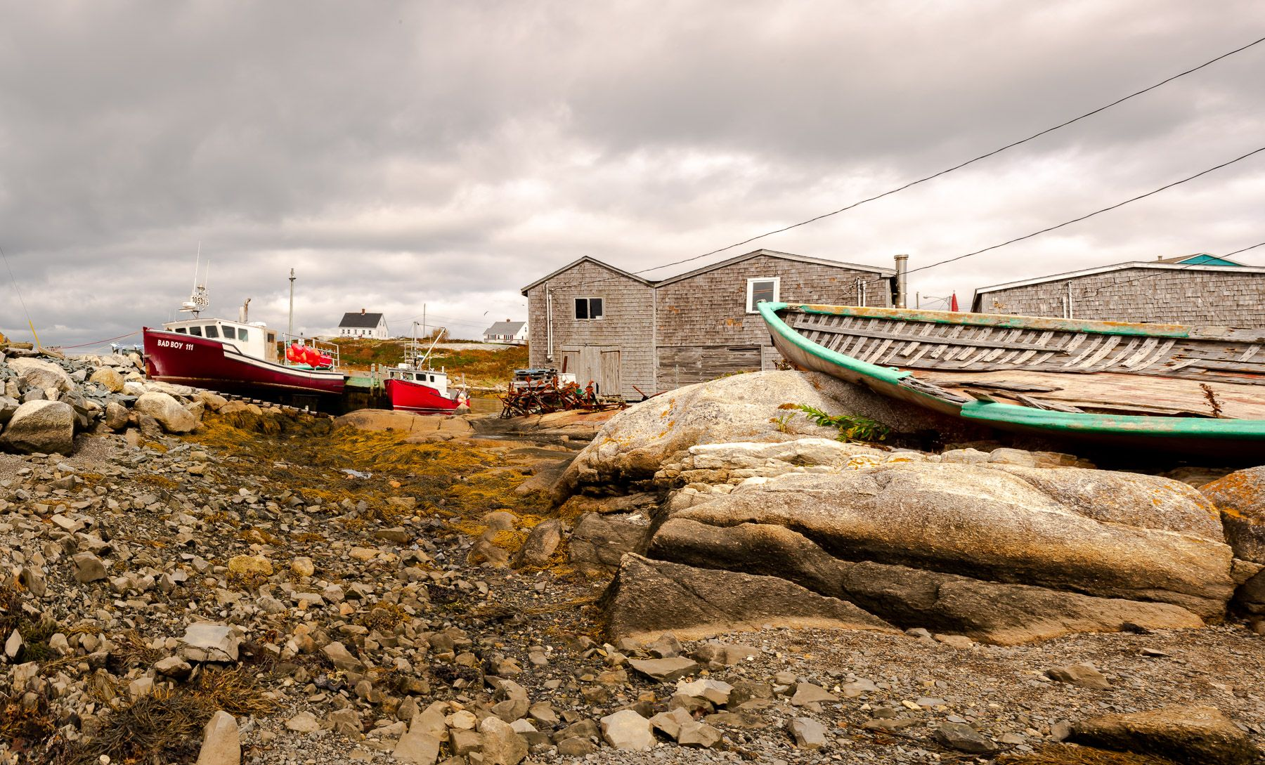 Peggy's Cove, Novia Scotia   CANADA
