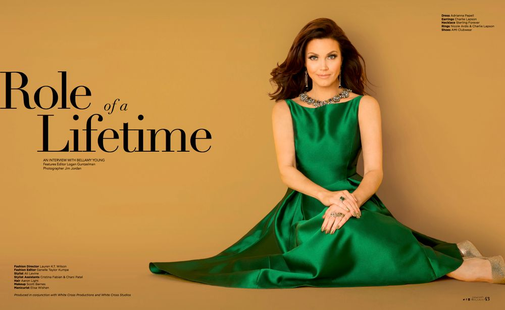 Bellamy Young CVLUX Magazine