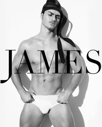 TAYNE DE VILLIERS - JAMES MAGAZINE HOMMES
