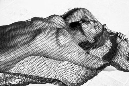 Girl In Net - Fine Art Photographer In Los Angeles