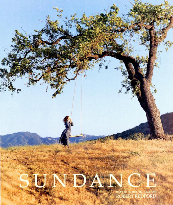 Sundance Magazine Girl with Swing