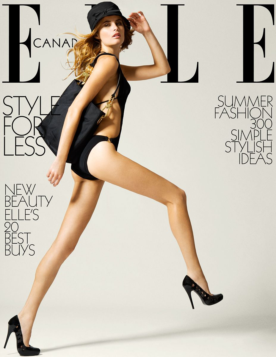 Elle Canada Magazine Style for Less
