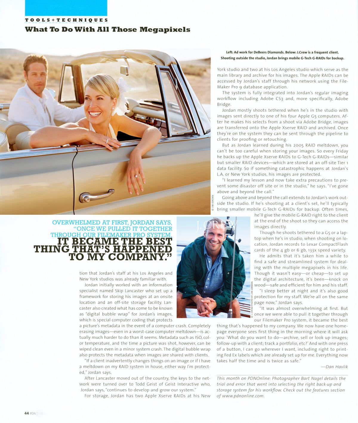 PDN Magazine Interview with Jim Jordan