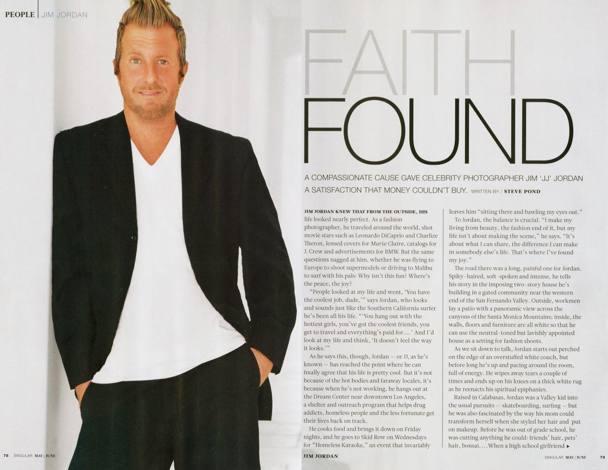 Singular Magazine Interview with Jim Jordan