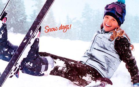 American Girl Snow Days - Kids Photographer Los Angeles