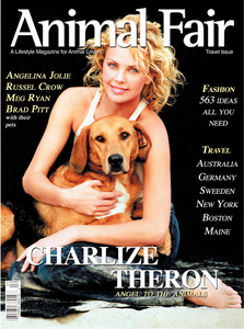 Charlize Theron Animal Fair Travel Issue Magazine