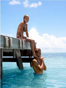 Couple on Pier Key West Florida