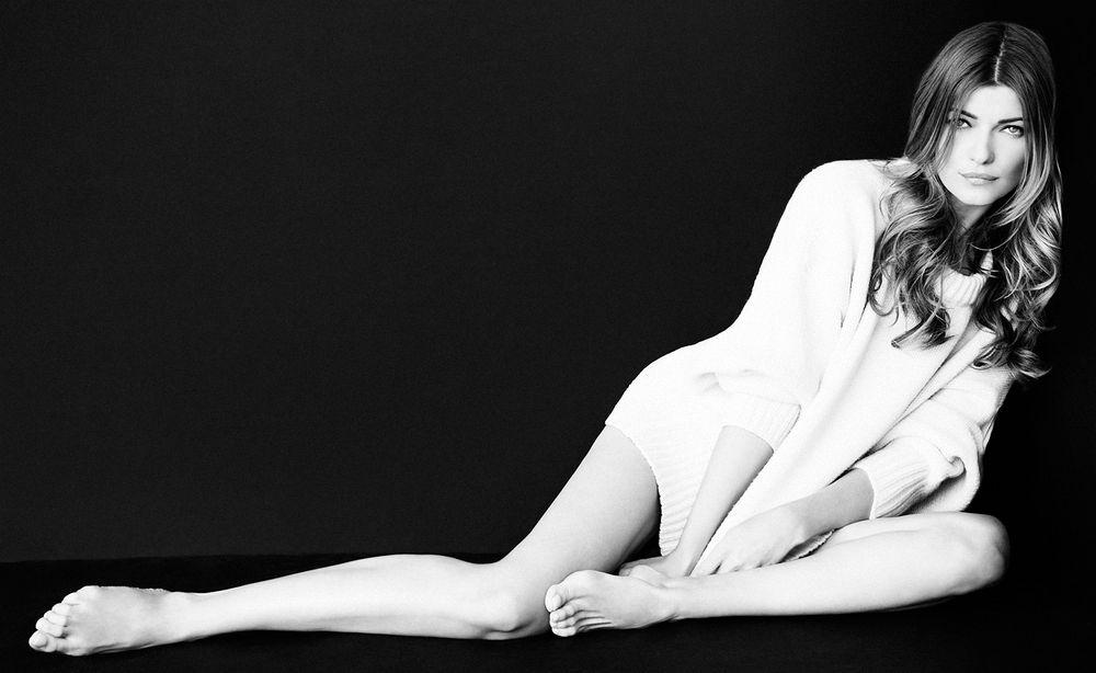 Ivana Milicevic Miami Living Magazine Laying Down