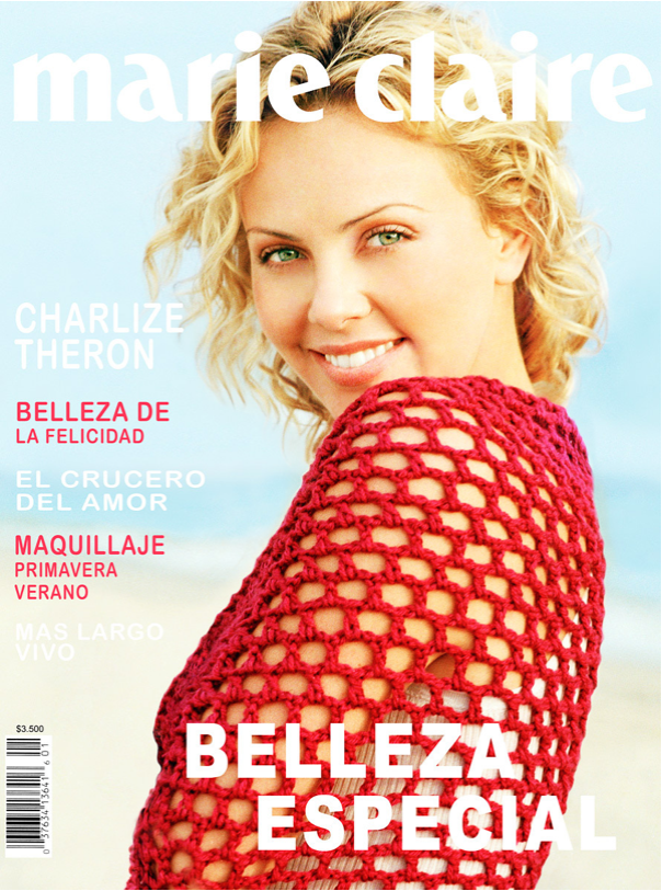Charlize Theron Marie Claire Cover