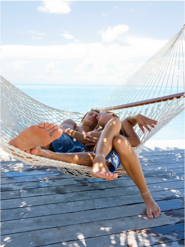 Couple on Hammock Key West Florida