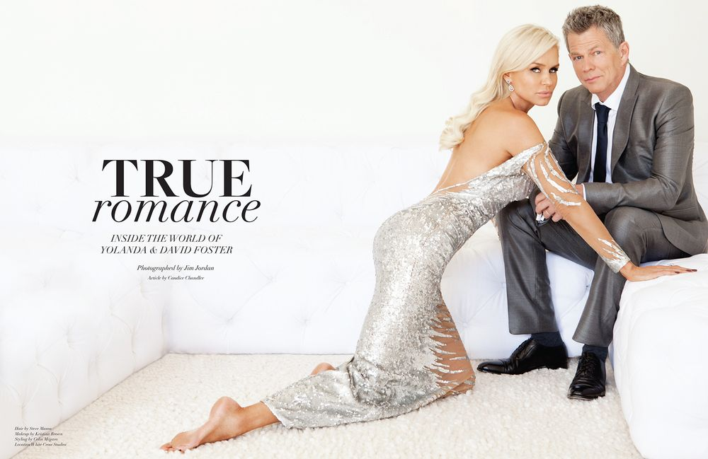 Yolanda Hadid Foster and David Foster CV Luxury Magazine