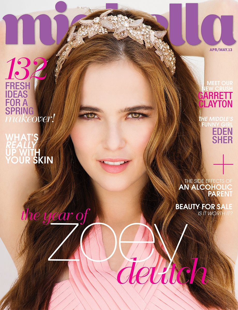 Zoey Deutch Miabella Magazine Cover