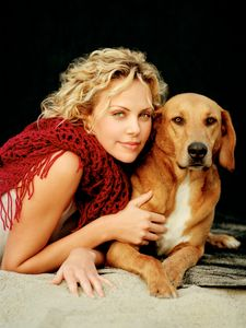 Charlize Theron Animal Fair Magazine