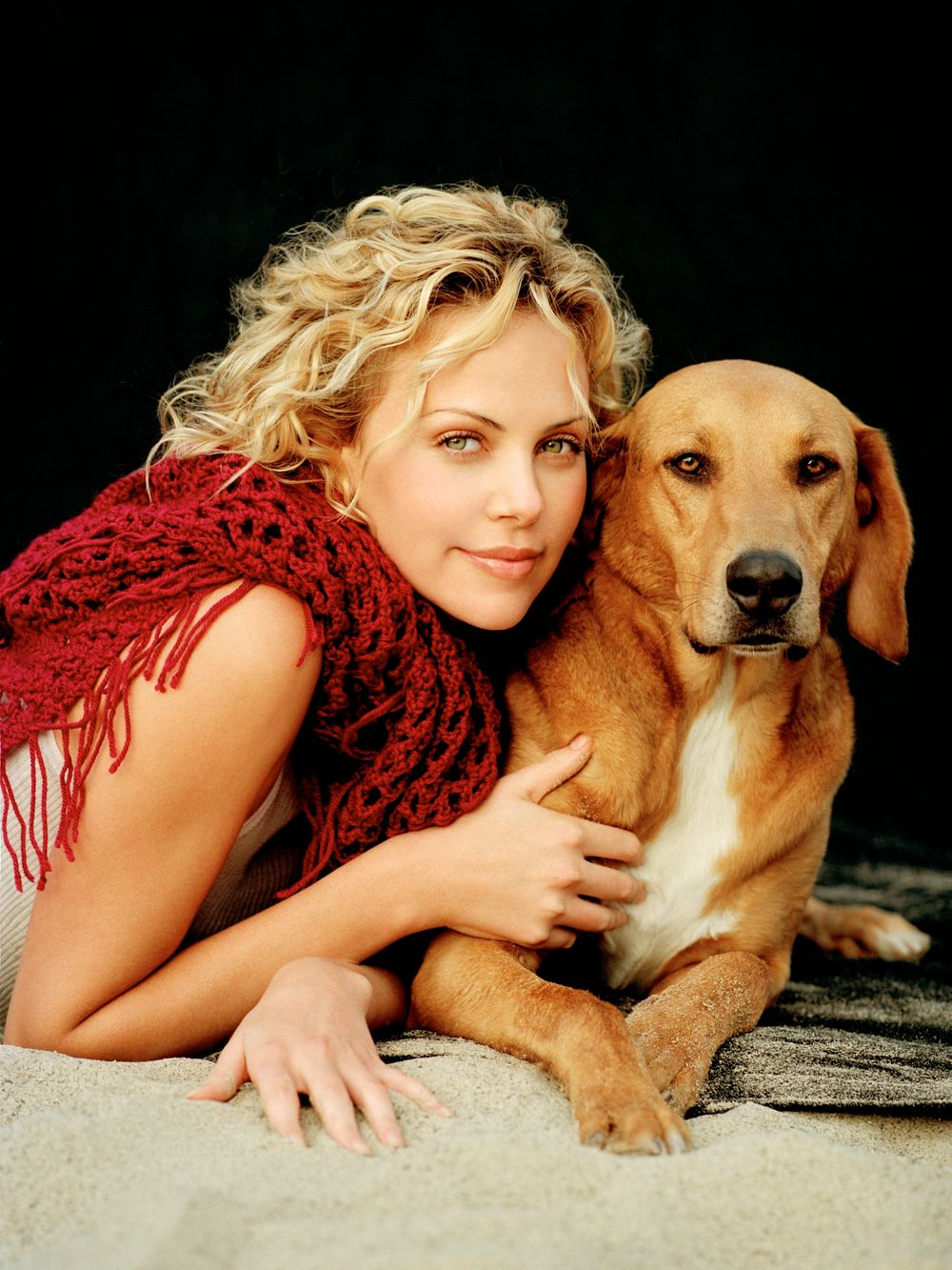 Charlize Theron Animal Fair Magazine