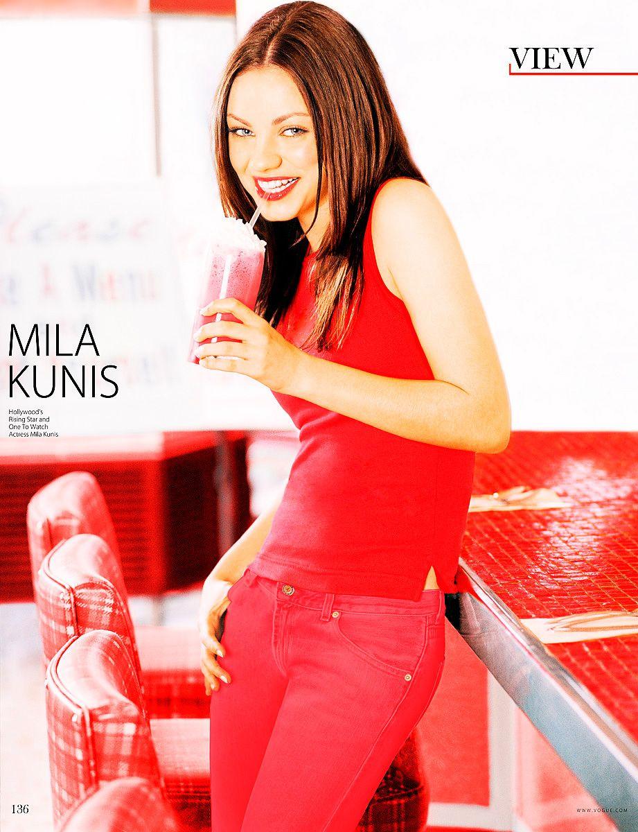 Mila Kunis The View Magazine