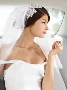 Bride in Limo - Bat Mitzvah Photographer Los Angeles