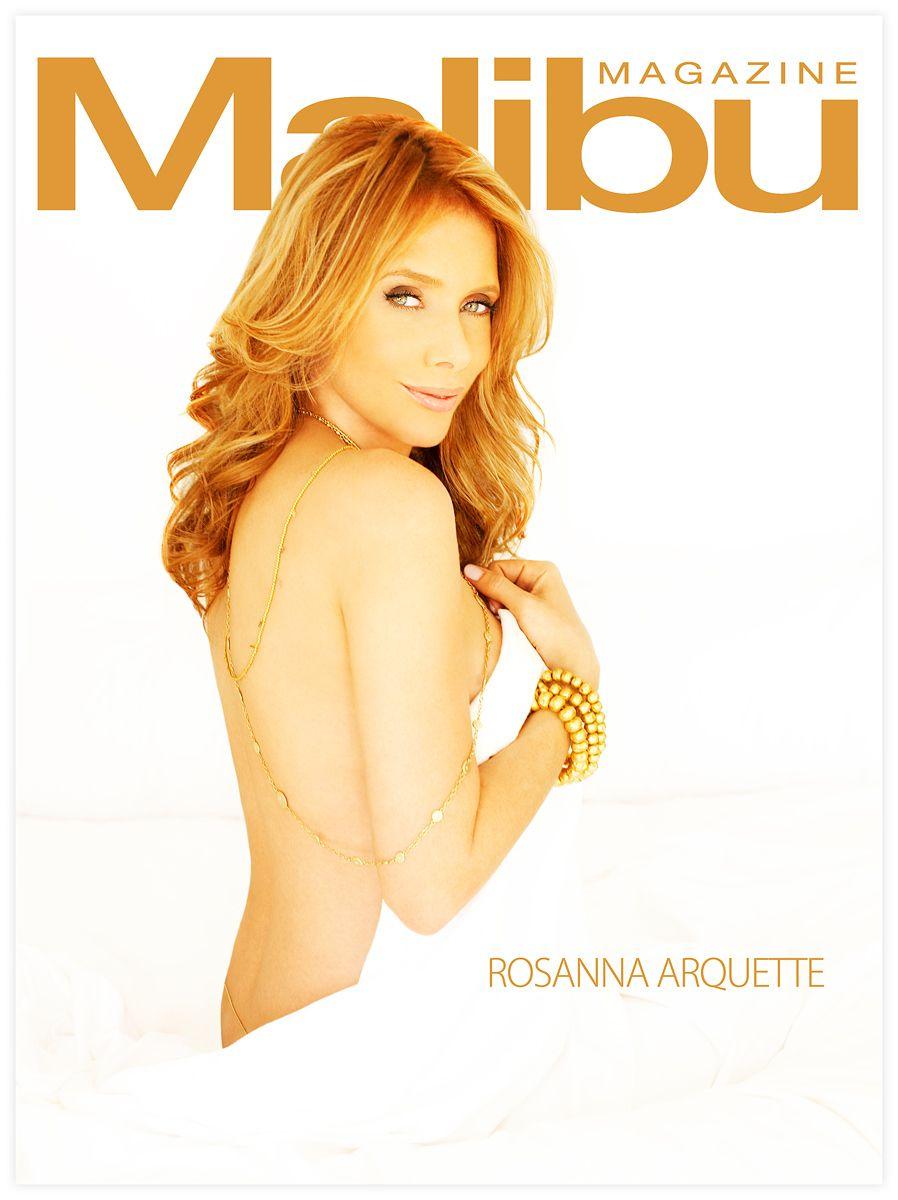 Rosanna Arquette Malibu Magazine Cover