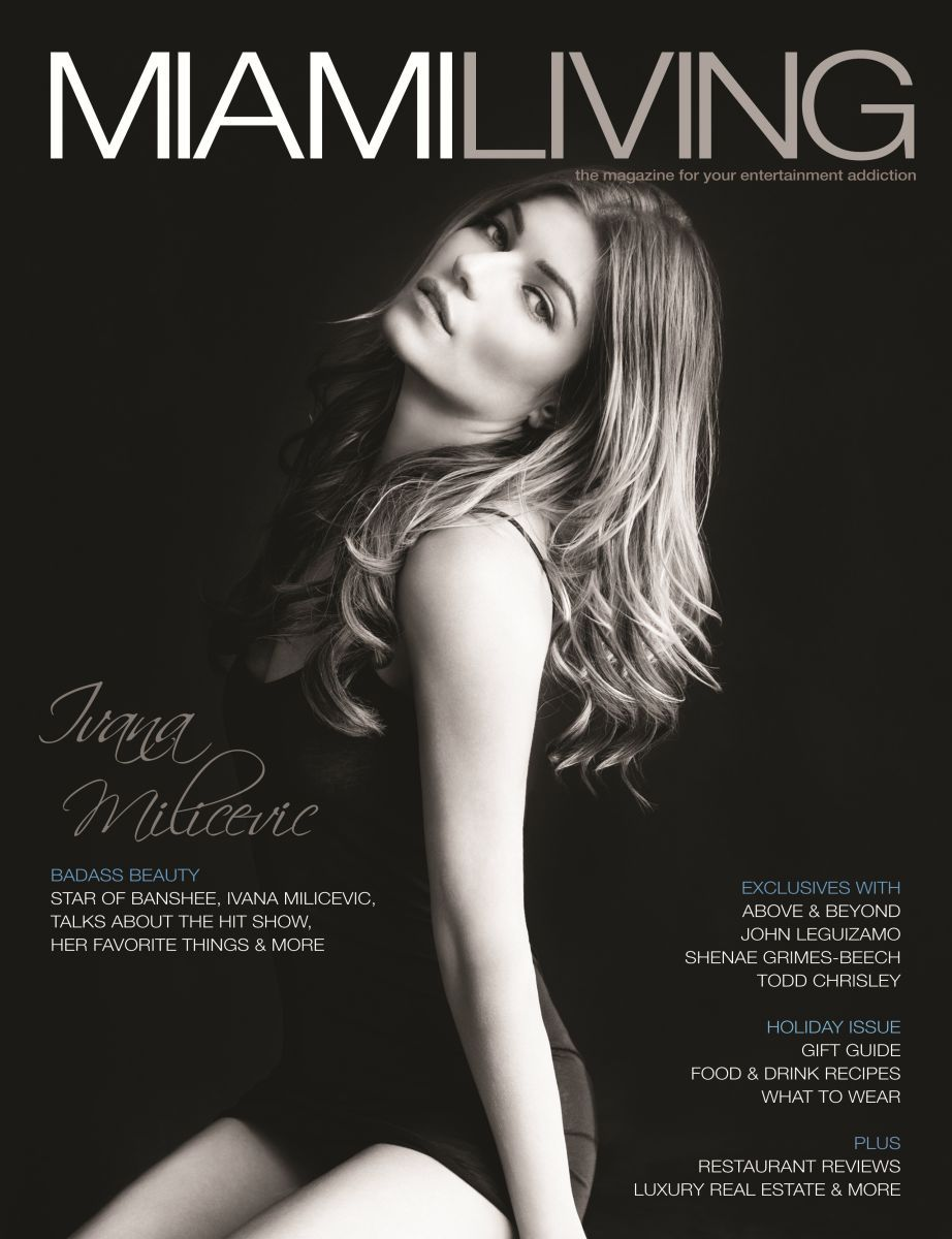 Ivana Milicevic Miami Living Magazine Cover