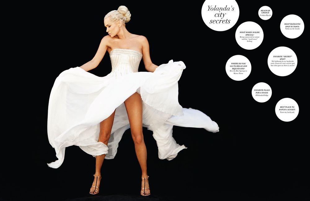 Yolanda Hadid Foster CV Luxury Magazine
