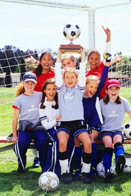 American Girl Soccer Team