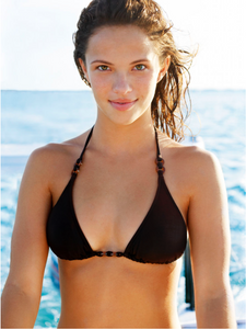 Girl with Ocean Key West Florida