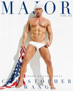 Christopher Wang - Major Magazine Editorial Cover