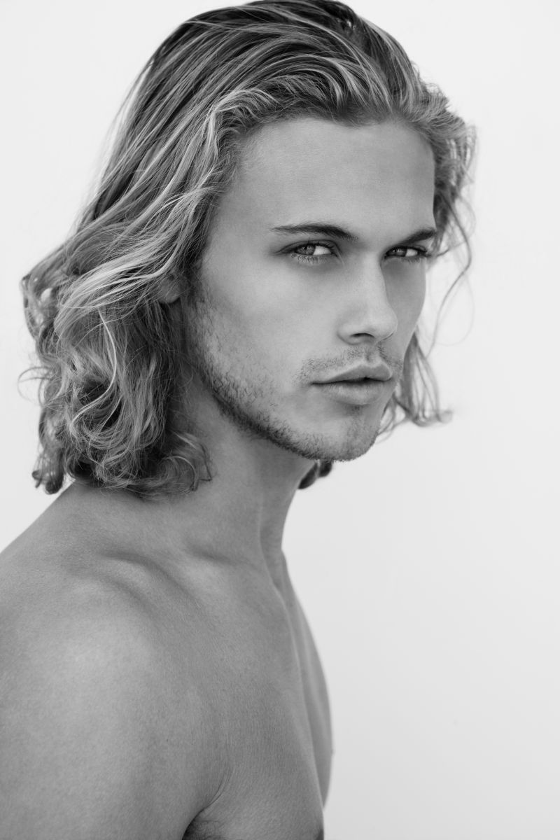 Fine Art Male Model Headshot