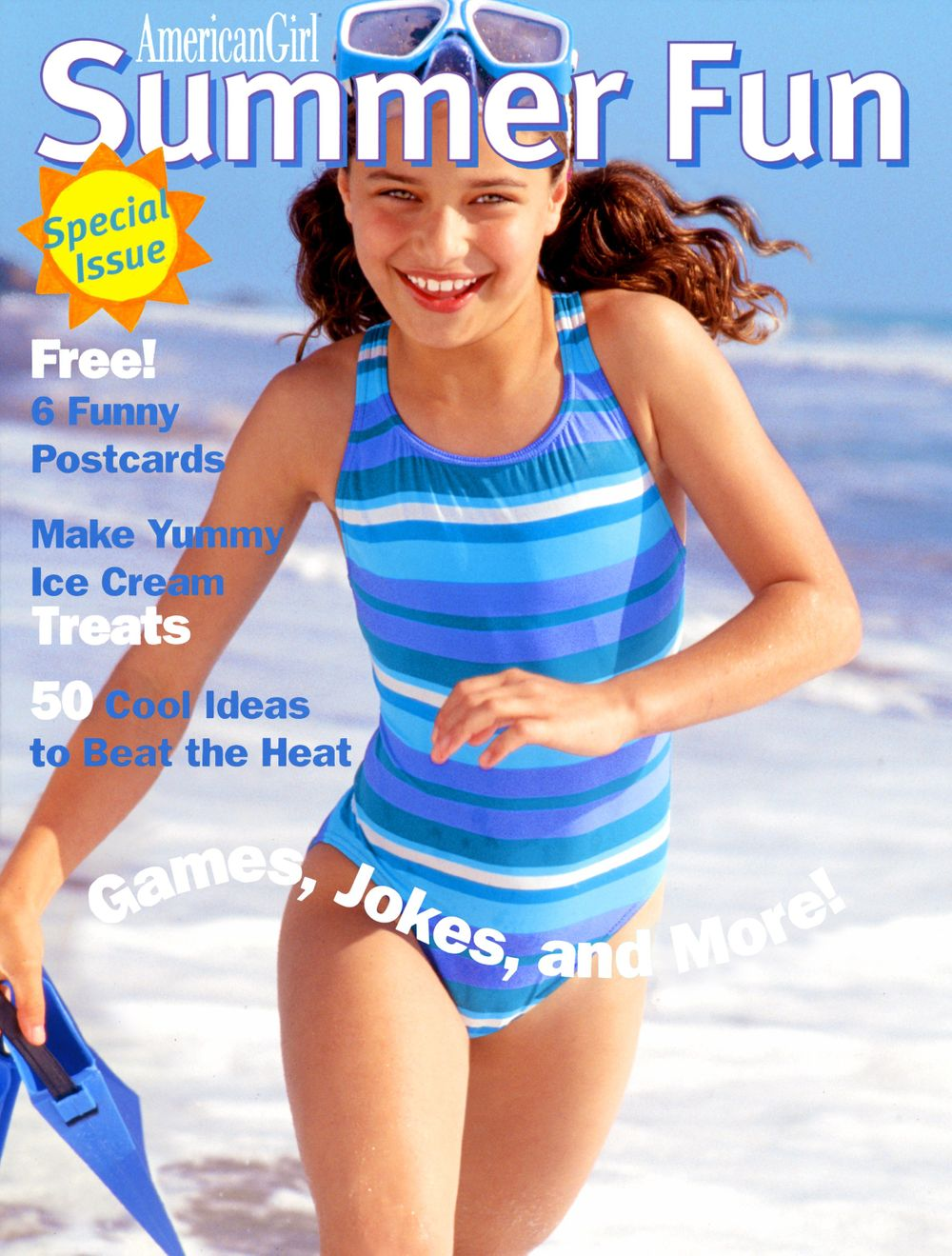 American Girl Summer Fun Magazine Cover