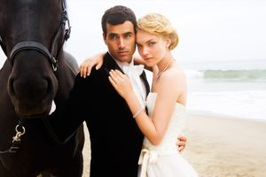 Zuma Beach Wedding Couple - Wedding Photographer In NYC