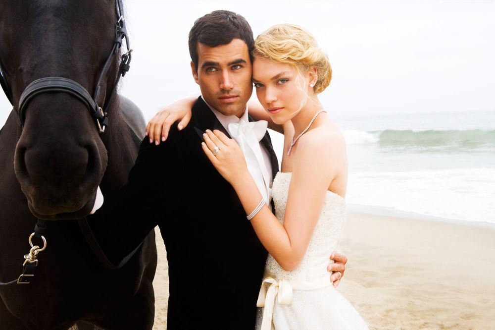 Zuma Beach Wedding Couple