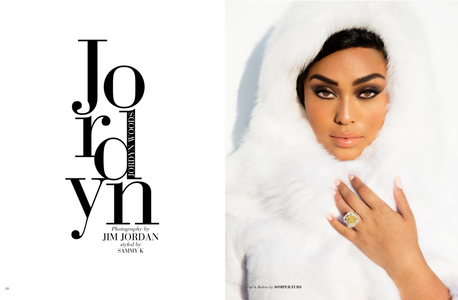 Jordyn Woods Modeliste Magazine