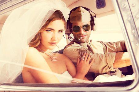 Airport Wedding Couple - Engagement Photographer Los Angeles