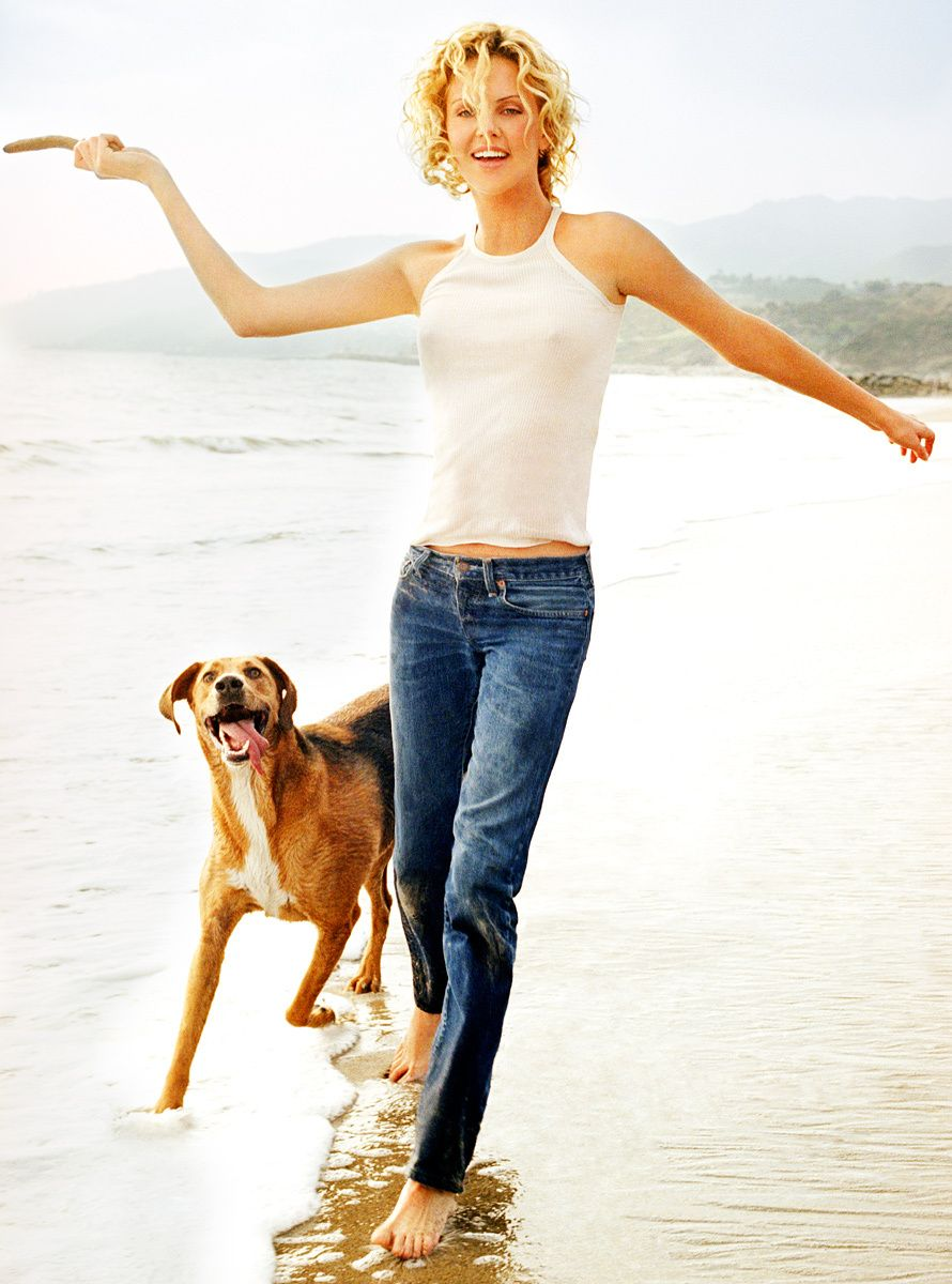 Charlize Theron Marie Claire Magazine