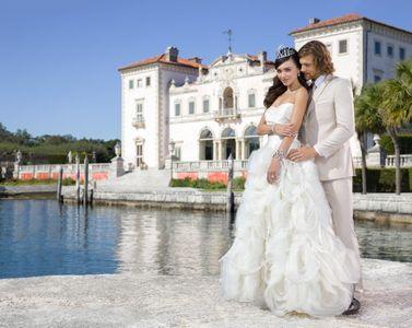 Florida Wedding Bride and Groom