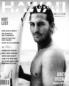 Andy Irons Hawaii Modern Luxury Cover
