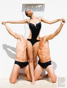 Rayne Ivanushka with Men - Fashion Photographer Los Angeles