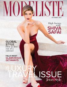 Shiva Safai Modeliste Magazine Cover