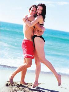 J.Crew Couple on Beach