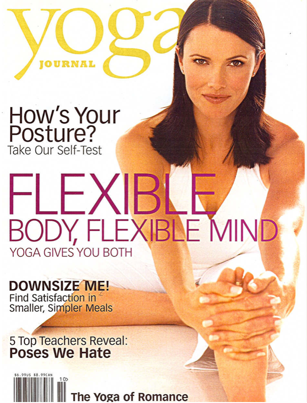 Yoga Journal Magazine Cover