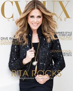 Rita Wilson CVLUX Magazine Cover