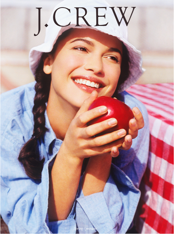 J.Crew Girl with Apple
